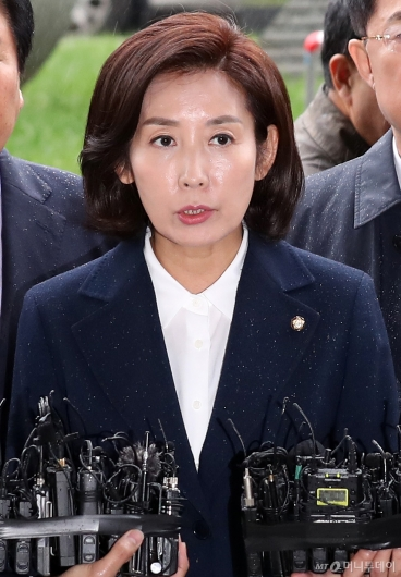 [사진]나경원 '패스트트랙 충돌' 관련 검찰 출석