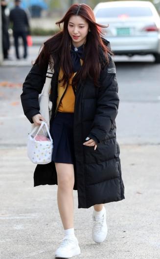 [사진]로켓펀치 수윤 '오늘 수능 치뤄요'