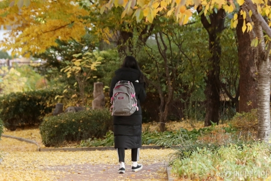 [사진]'지금부터는 혼자만의 길'