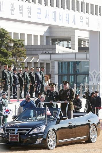 [사진]마크 밀리 美 합참의장 방한