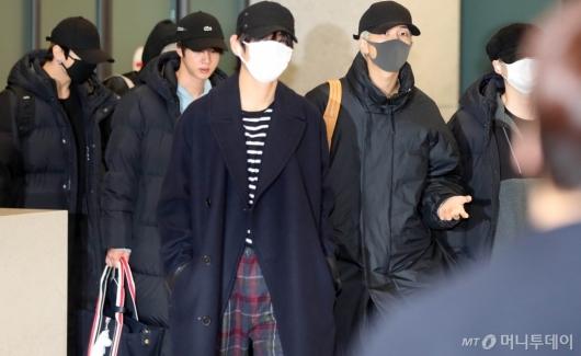 [사진]입국하는 BTS
