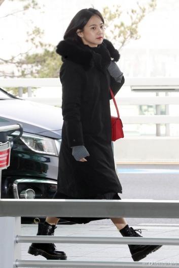 [사진]윤승아 '겨울이 왔어요'