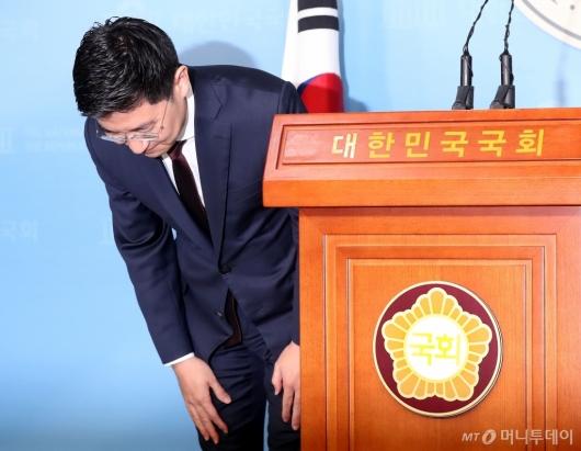 [사진]김세연, 총선 불출마 선언 기자회견