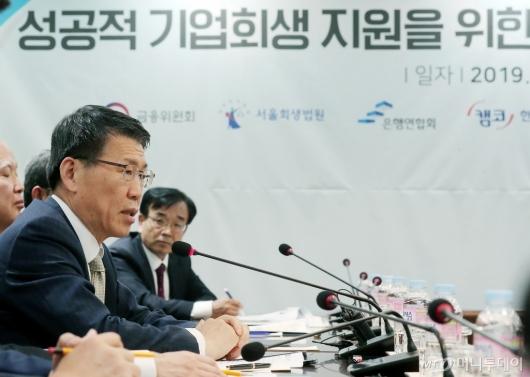 [사진]모두발언 하는 은성수 금융위원장