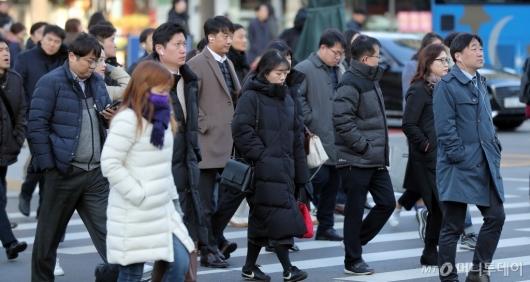[사진]겨울 외투 필수인 추운 날씨