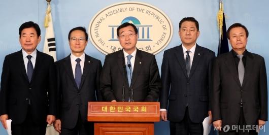[사진]민주당, 합리적인 방위비 분담금 협상 촉구