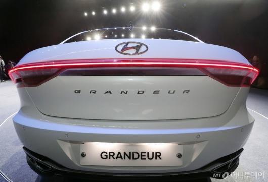 [사진]'더 뉴 그랜저' 세련된 테일램프