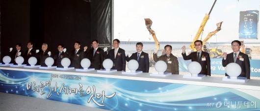[사진]'인천공항 4단계 건설사업' 파이팅!