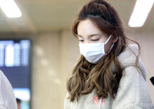 [사진]나연 '피곤한 입국'