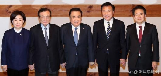[사진]황교안 대표 빠진 정치협상회의