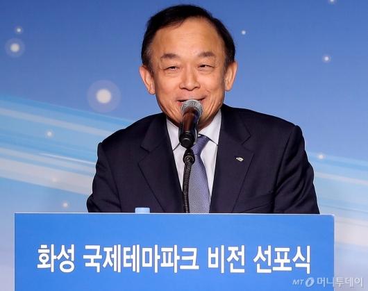 [사진]인사말하는 이학수 한국수자원공사 사장