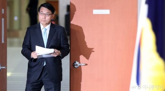 [사진]윤상현, 지소미아 종료 앞두고 기자회견