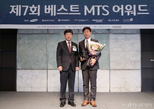 [사진]삼성증권,제7회 베스트MTS어워드 대상 수상