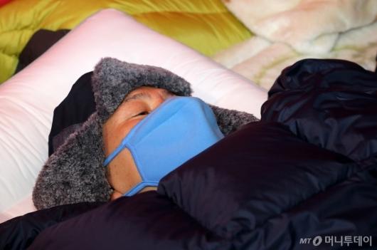 [사진]황교안 대표, 일주일째 단식투쟁
