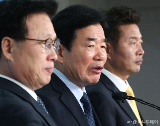 [사진]김진표, 특례시 지정 지방자치법 개정 촉구