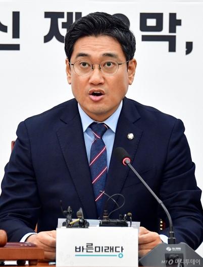 [사진]입장 발표하는 오신환 원내대표