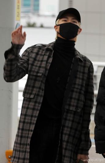 [사진]RM '잘다녀올게요'