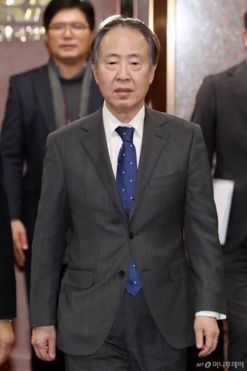 [사진]도미타 고지 신임 주한 일본대사 입국