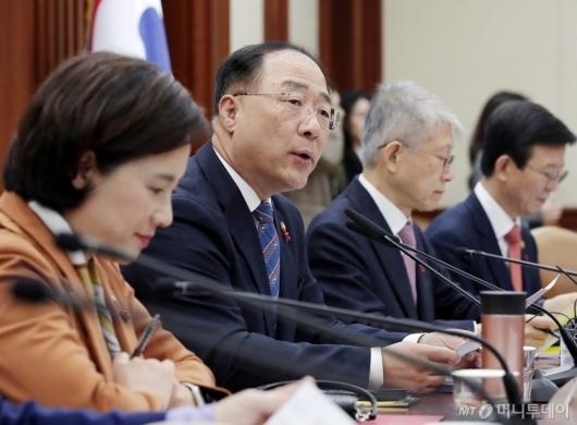 [사진]홍남기 부총리 '혁신성장 전략회의 주재'