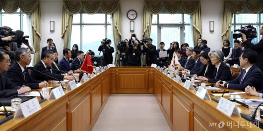 [사진]한-중 외교장관회담
