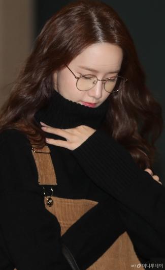 [사진]윤아 '날씨가 추워요'