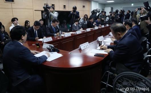 [사진]검찰공정수사촉구특별위원회 1차 회의