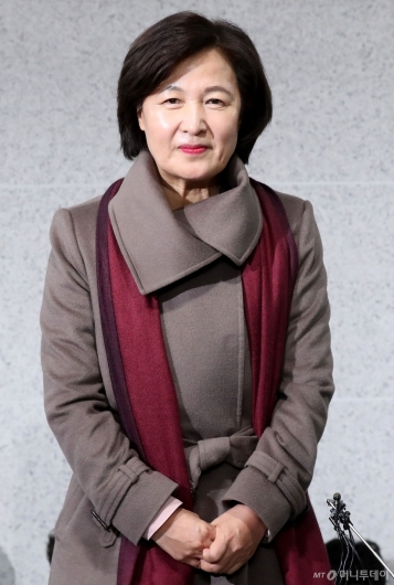 [사진]법무부장관 지명된 추미애 의원