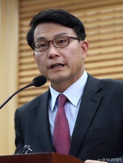 [사진]윤상현, 원내대표 출마 선언