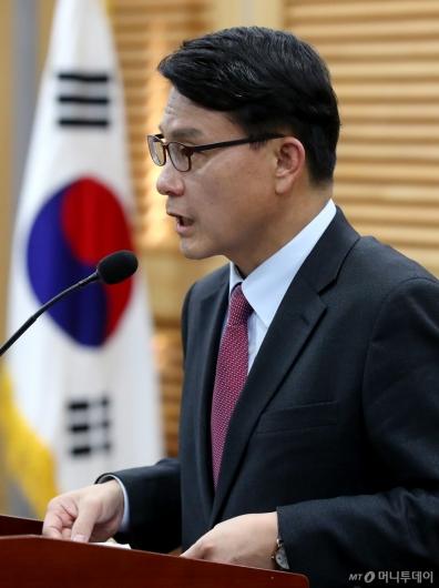 [사진]윤상현, 한국당 원내대표 출마 선언