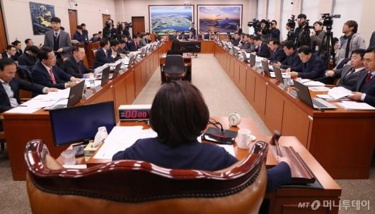 [사진]타다 금지법, 국회 국토위 전체회의 통과