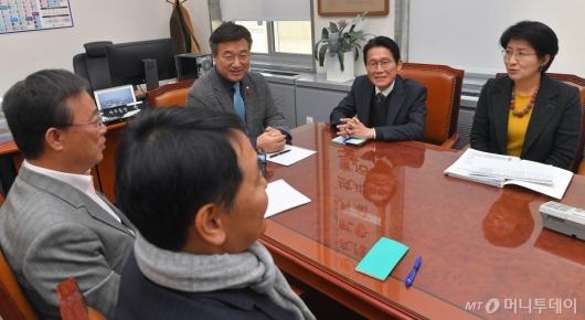[사진]정치협상회의 실무대표자 회의