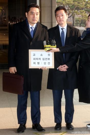 [사진]김건모 고소장 든 강용석-김세의