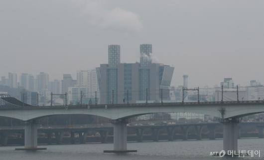 [사진]겨울 미세먼지