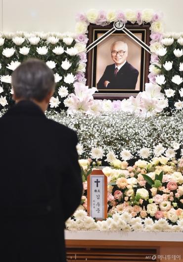 [사진]故 김우중 전 대우그룹 회장 별세...향년 83세