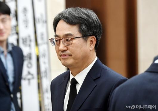 [사진]김우중 전 회장 빈소 찾은 김동연 전 부총리