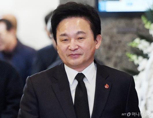 [사진]빈소 찾은 원희룡 도지사