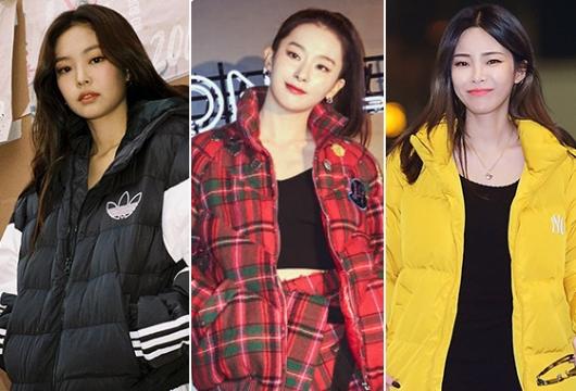 옷 잘 입는 ★들의 '숏패딩' 스타일 3