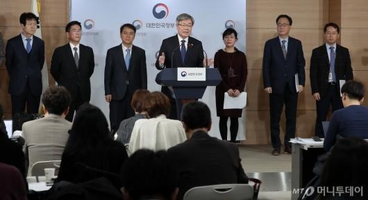 [사진]이재갑 장관 '주52시간 보완대책 발표'