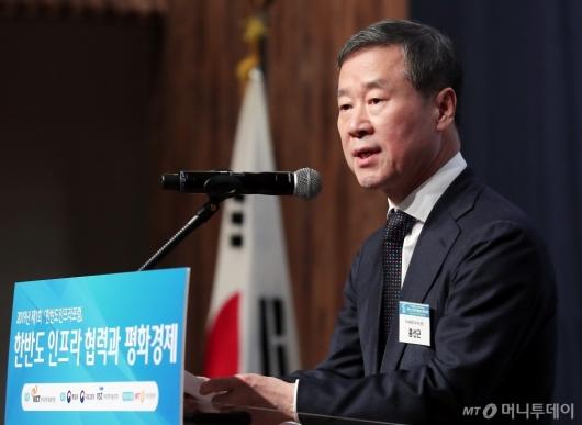 [사진]축사하는 홍선근 회장