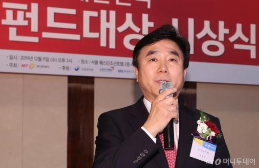 [사진]대상 소감 전하는 전영묵 대표