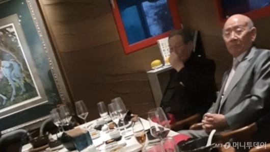 전두환, 12·12 40주년에 20만원짜리 점심