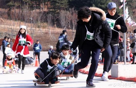 [사진]'우리동네 썰매왕은?'