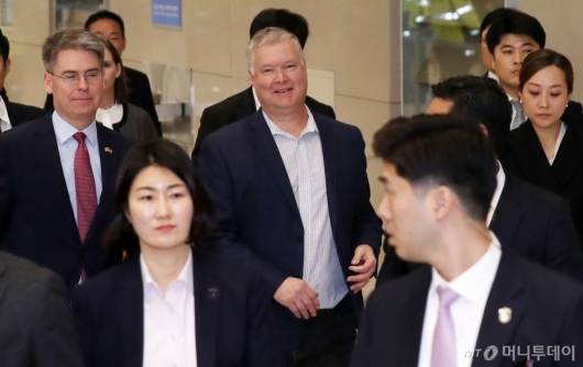 [사진]스티븐 비건 대표 방한