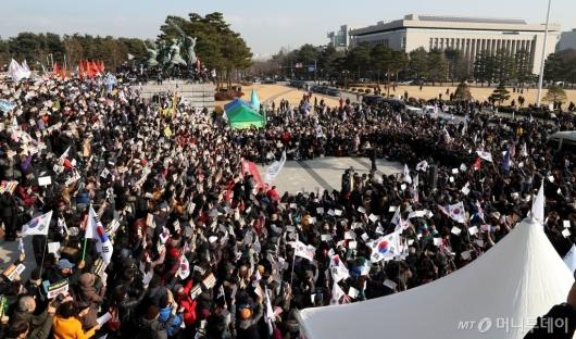 [사진]한국당, 공수처-선거법 저지 규탄대회