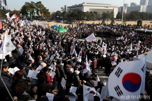 [사진]한국당, 패스트트랙 법안 저지 규탄대회