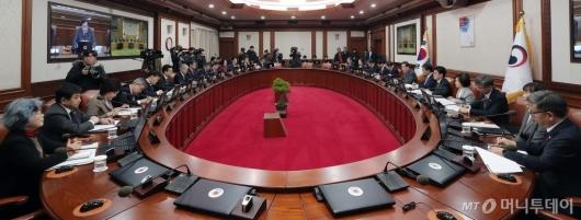 [사진]예산안 관련 국무회의