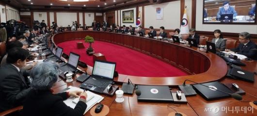[사진]이낙연 총리 주재 '국무회의'