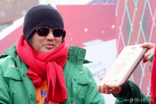 [사진]다일공동체 새 홍보대사로 위촉된 김보성