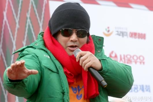 [사진]의리 외치는 김보성