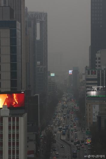 [사진]연일 계속되는 초미세먼지 습격